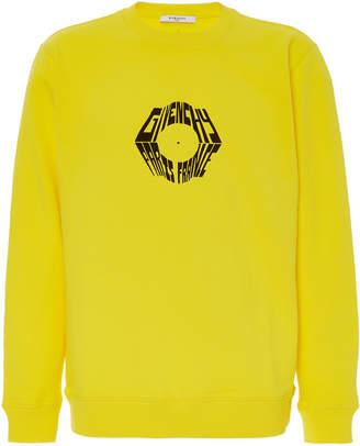 Givenchy Printed Cotton-Jersey Sweatshirt