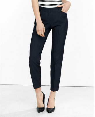 Express Low Rise Refined Denim Editor Ankle Pant $79.90 thestylecure.com