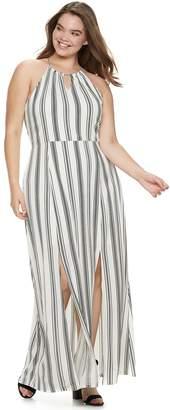 Candies Juniors  Plus Size Candie s Halter Maxi Dress e0f974374