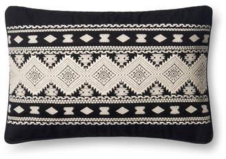 Loloi Black & White Pillow