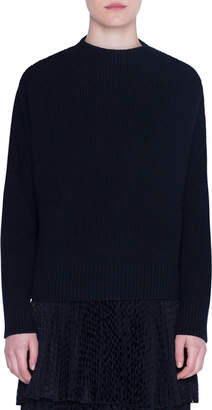 Akris Punto Wool-Cashmere High-Neck Sweater