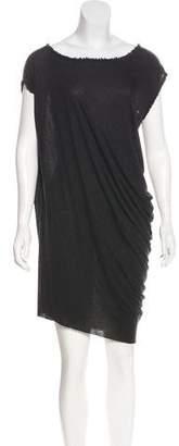 AllSaints Asymmetrical Dita Tee Dress