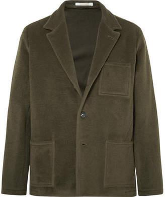 Massimo Alba Unstructured Fleece Wool And Mohair-blend Blazer