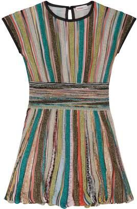Missoni Lurex Stripe Knit Dress