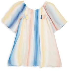Chloé Toddler's, Little Girl's& Girl's Couture Rainbow Silk Dress