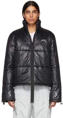 A-Cold-Wall* Black Down Puffa Coat