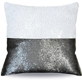 Mainstays Black Reversible Sequin Pillow