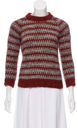 Isabel Marant Striped Crew Neck Sweater