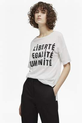 French Connection Liberte Scoop Neck Raglan T-Shirt
