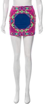Mara Hoffman Embroidered Mini Skirt