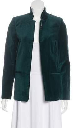 Zadig & Voltaire Open-Front Velvet Jacket