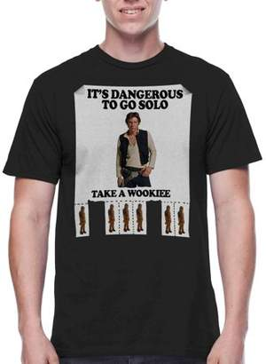 Star Wars Movies & TV Men's Take A Wookie Graphics T-shirt
