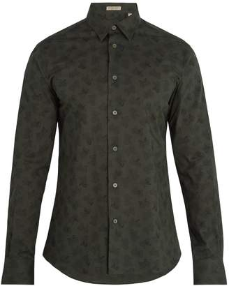 Bottega Veneta Butterfly-print single-cuff cotton shirt