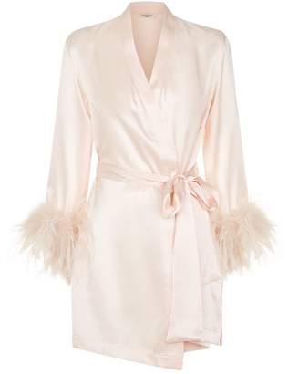 Gilda & Pearl Mia Feather Trim Robe
