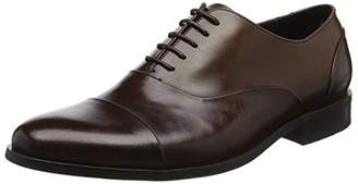 Dune Men's Robb Oxfords, (Brown Leather), 46 EU