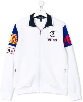 Ralph Lauren TEEN logo patch sweatshirt
