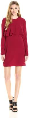 Fashion Union Union Fashion Ltd Women's Frill Shift Dress