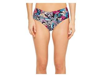 Kenneth Cole Tropical Tendencies Crossover Bikini Bottom Women's Swimwear
