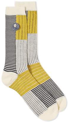 Folk Fraction Sock
