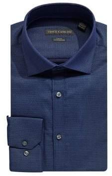 Vince Camuto Slim-Fit Cotton Dress Shirt