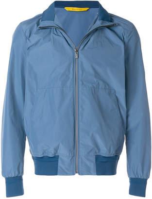 Canali Nylon bomber jacket