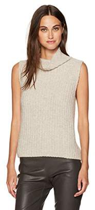 Vince Women's Sleeveless Turtleneck Sweater