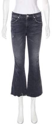 Amo Mid-Rise Cropped Jeans