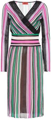 Missoni Cotton-blend striped dress