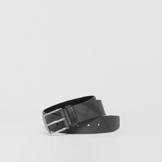 Burberry Check and Leather Belt