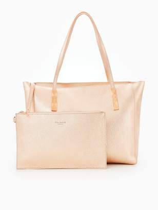 cca1f43d5 Ted Baker Ted Baker Paigie Soft Grain Large Zip Tote