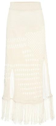 Altuzarra Benedetta knitted midi skirt