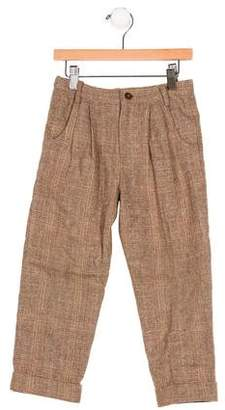 Rachel Riley Girls' Wool Plaid Pants