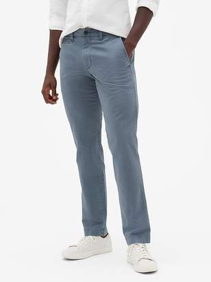 Gap Vintage Wash Khakis in Straight Fit with GapFlex