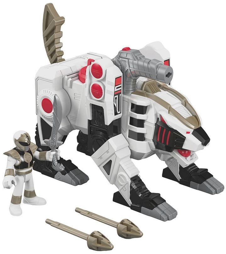 Fisher-Price Imaginext Power Rangers White Ranger & Tigerzord