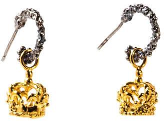 75aafc879 Sacrosanta Queen Crown Earrings