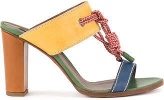 DSQUARED2 rope detail sandals