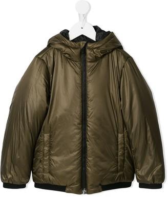 Emporio Armani Kids hooded coat