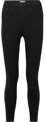L'Agence The Katrina High-rise Skinny Jeans - Black