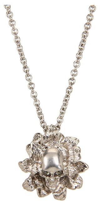 Alexander McQueen 301699J160N1265 (Pewter) - Jewelry