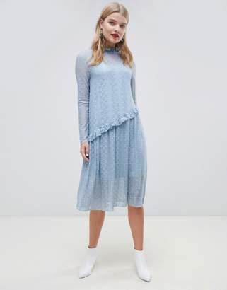 Pieces Lace Midi Dress