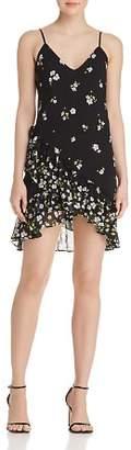 Bardot Ruffled Floral Print Slip Dress - 100% Exclusive