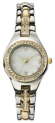 Merona; Women's Analog Watch with Two-Tone Metals - Silver & Gold - Merona; $16.99 thestylecure.com