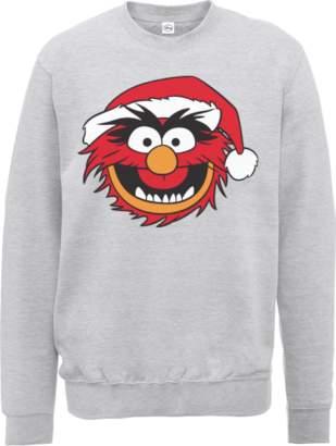 Disney The Muppets Animal Grey Christmas Sweatshirt