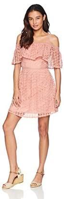 Jack Women's Aitana Geometric Lace Dress