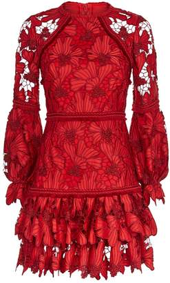Alexis Fransisca Floral Embroidered Dress