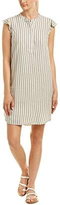 Splendid Women's Stripe Henley Dress