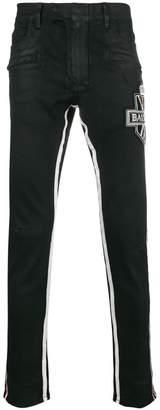 Balmain embellished logo jeans