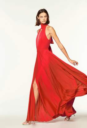 Milly Emma Tie Neck Gown