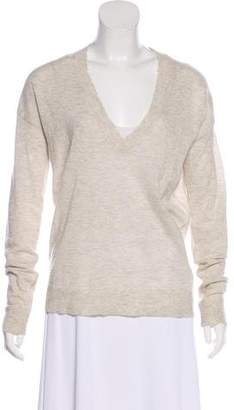 Zadig & Voltaire Cashmere Distressed Sweater