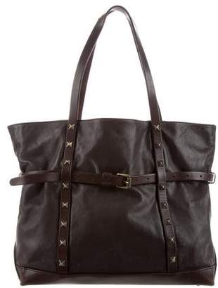 Tomas Maier Studded Leather Tote